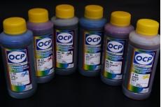 Комплект водорастворимых чернил OCP (BK 90, C/M/Y 93, ML/CL 94) для картриджей HP Vivera 177, 6 x 100 гр