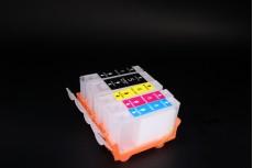 ПЗК (перезаправляемые картриджи) PGI-5Bk, CLI-8BK/ C/M/Y для Canon iP4200/ 4300/ 4500/ 5200/ 5300/ MP500/ 530/ 600/ 610/ 800/ 810/ 830 с чипом набор 5шт