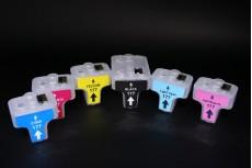 ПЗК (перезаправляемые картриджи) НР177 для HP Photosmart 3213/ 3313/ C5183/ D6163/ C6183/ D7163/ C7183/ D7363 набор 6шт - только указанные принтеры