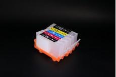 ПЗК (перезаправляемые картриджи) НР 178 for HP Photosmart C5380/ C6375/ C6380/ D5460/ D7560/ B8550/ C309a БЕЗ ЧИПОВ набор 5шт