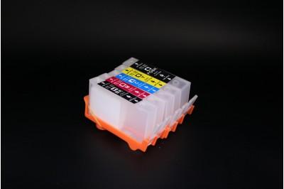ПЗК (перезаправляемые картриджи) НР 178 for HP Photosmart C5380/ C6375/ C6380/ D5460/ D7560/ B8550/ C309a С ЧИПОМ набор 5шт