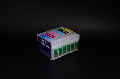 ПЗК (перезаправляемые картриджи) T801-806 для Epson Stylus Photo P50/ PX650/ PX659/ PX660/ PX720WD/ PX820FWD